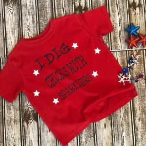 Other - Toddler boys 4th of July shirt